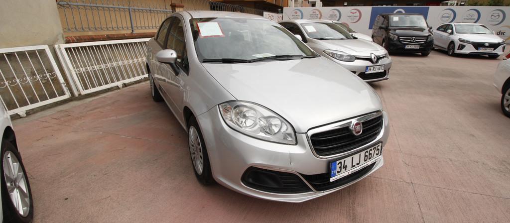 ikinci el araba 2014 Fiat Linea 1.3 Multijet Pop Dizel Manuel 122500 KM 0