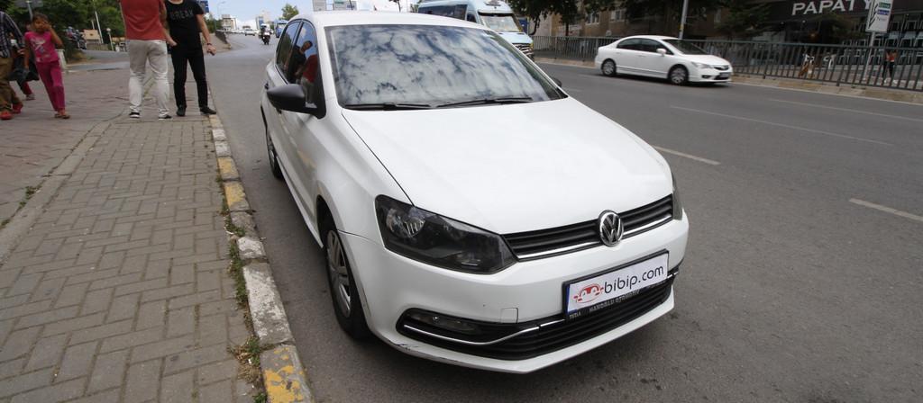 ikinci el araba 2014 Volkswagen Polo 1.4 TDi Trendline Dizel Manuel 183000 KM 4