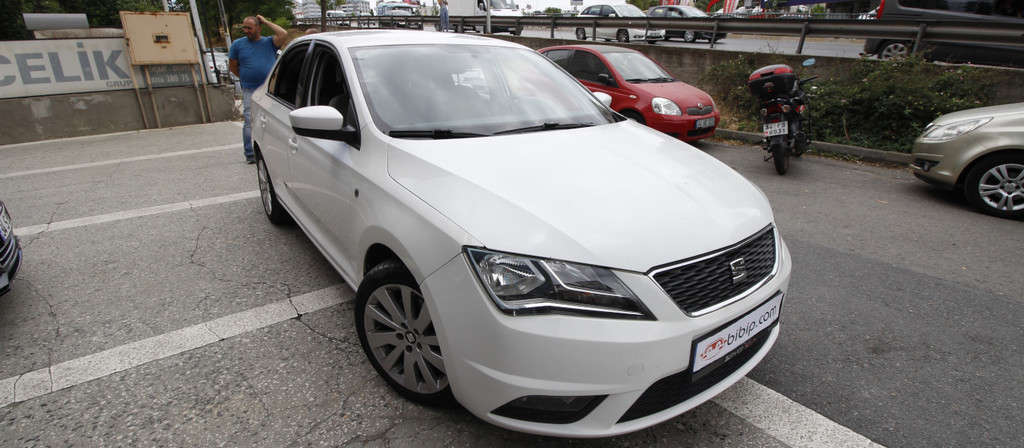 ikinci el araba 2014 Seat Toledo 1.6 TDI Style Dizel Otomatik 89000 KM 2