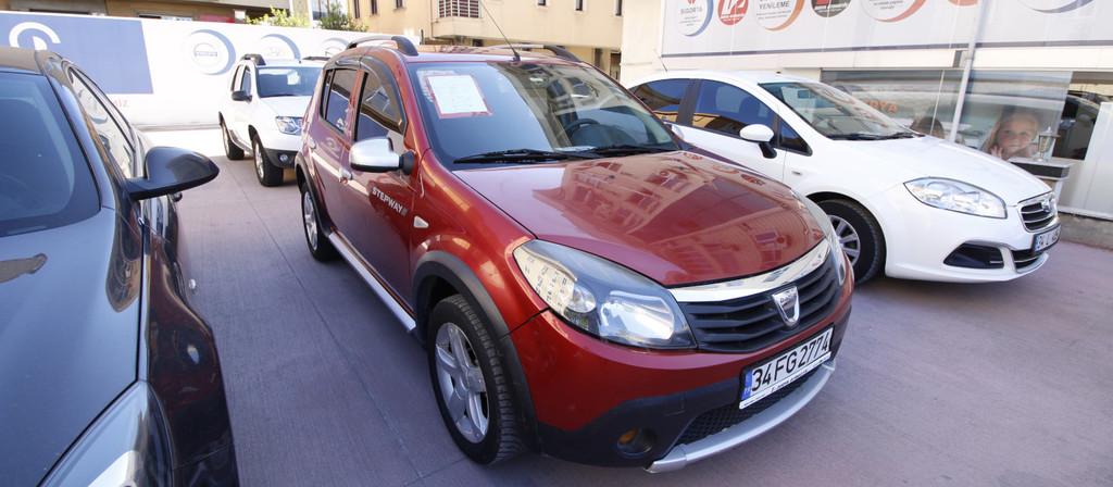 ikinci el araba 2012 Dacia Sandero 1.5 dCi Stepway Dizel Manuel 120000 KM 0