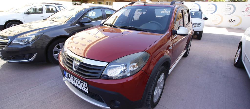 ikinci el araba 2012 Dacia Sandero 1.5 dCi Stepway Dizel Manuel 120000 KM