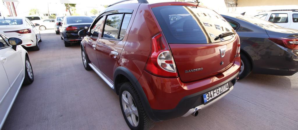 ikinci el araba 2012 Dacia Sandero 1.5 dCi Stepway Dizel Manuel 120000 KM 2