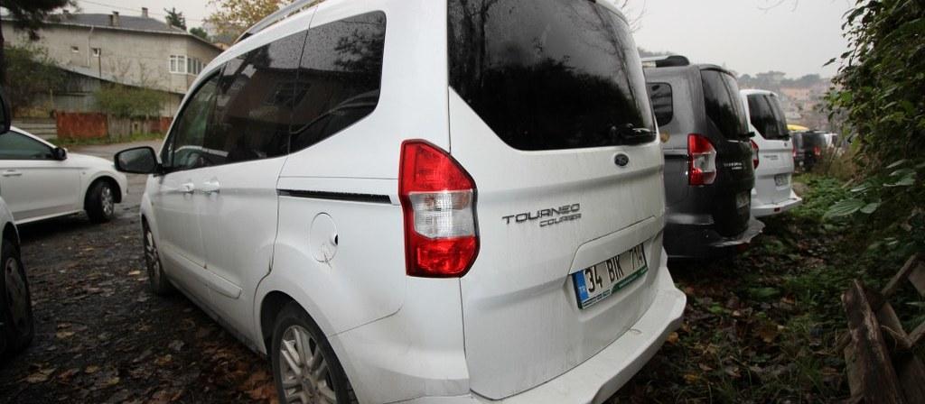 ikinci el araba 2018 Ford Tourneo Courier 1.5 Tdci Titanium Dizel Manuel 15706 KM 5