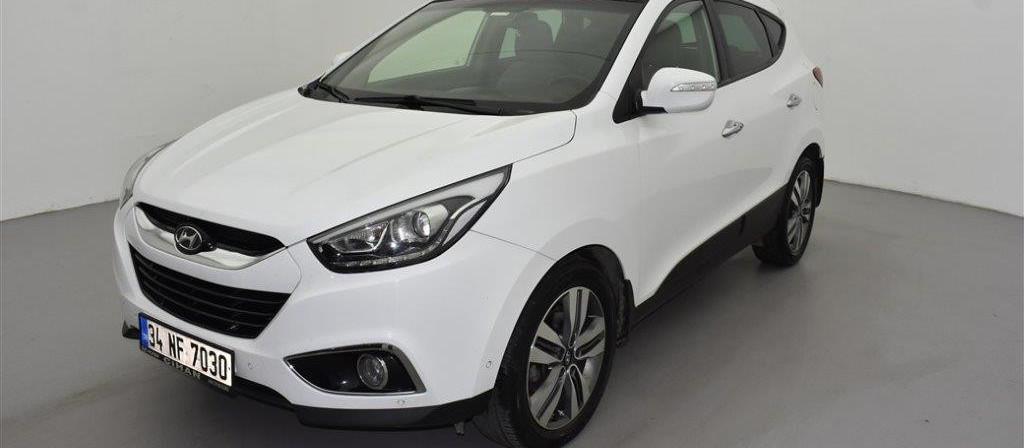 ikinci el araba 2015 Hyundai ix35 4x4 2.0 CRDI Elite Dizel Otomatik 81081 KM