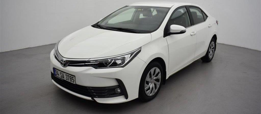 ikinci el araba 2016 Toyota Corolla 1.4 D-4D Touch Dizel Otomatik 33392 KM
