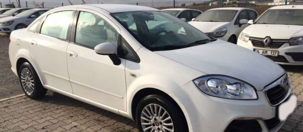 ikinci el araba 2017 Fiat Linea 1.3 Multijet Pop Dizel Manuel 54846 KM 1