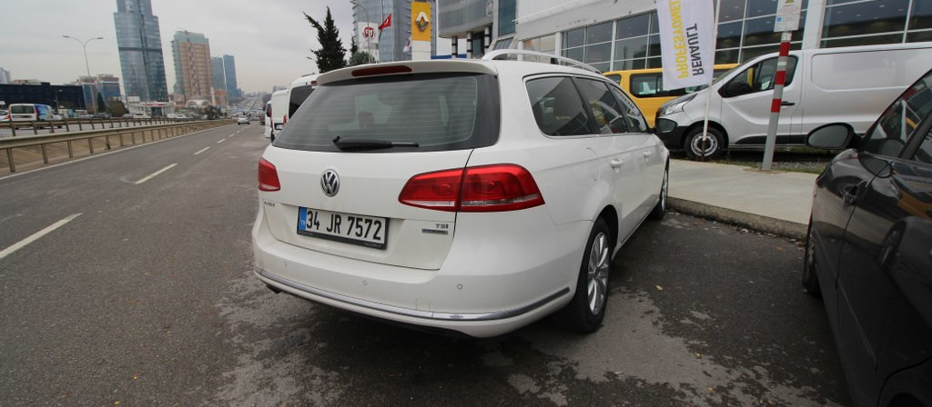 ikinci el araba 2012 Volkswagen Passat Variant 1.4 TSi BlueMotion Comfortline Benzin Manuel 66675 KM 0