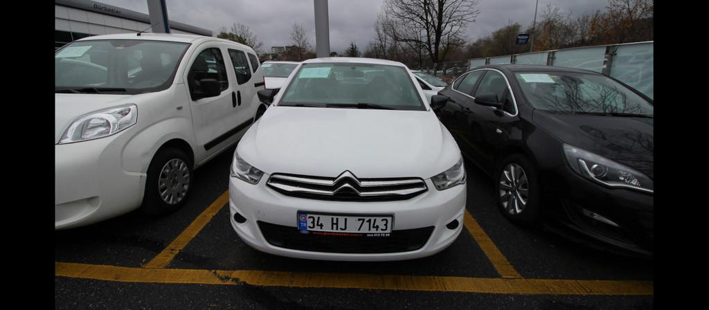 ikinci el araba 2015 Citroen C-Elysee 1.6 HDi Attraction Dizel Manuel 65450 KM 5