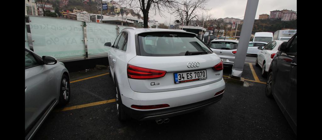 ikinci el araba 2014 Audi Q3 1.4 TFSi Benzin Otomatik 53955 KM 0