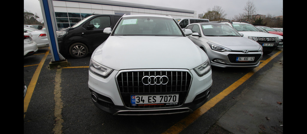 ikinci el araba 2014 Audi Q3 1.4 TFSi Benzin Otomatik 53955 KM