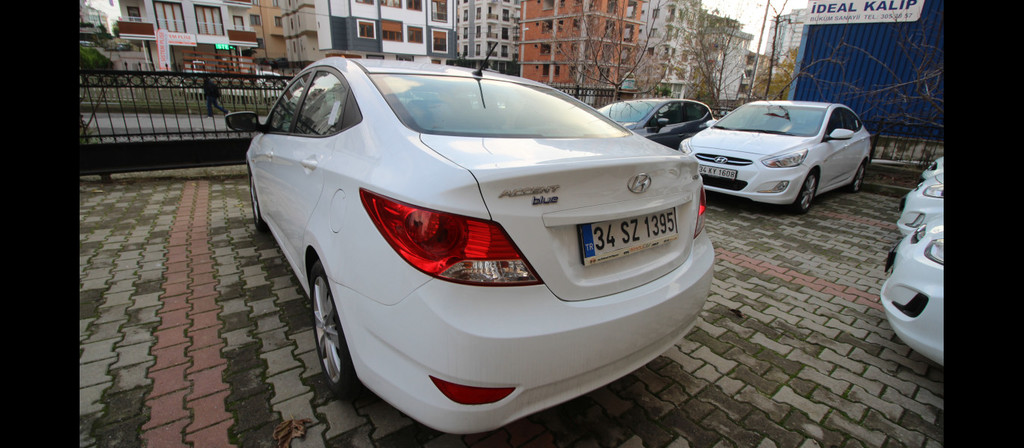 ikinci el araba 2016 Hyundai Accent Blue 1.6 CRDI Mode Plus Dizel Otomatik 51950 KM 0