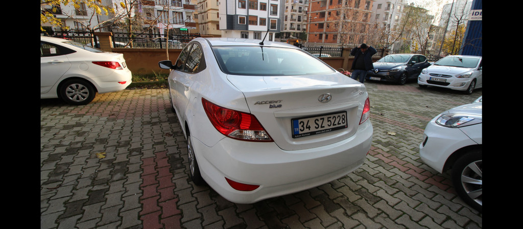 ikinci el araba 2016 Hyundai Accent Blue 1.6 CRDI Mode Dizel Manuel 65895 KM 1