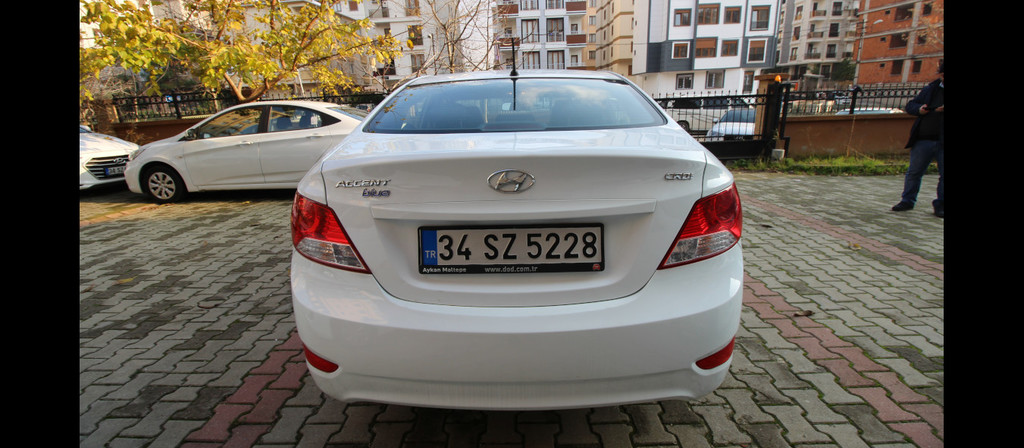 ikinci el araba 2016 Hyundai Accent Blue 1.6 CRDI Mode Dizel Manuel 65895 KM 2