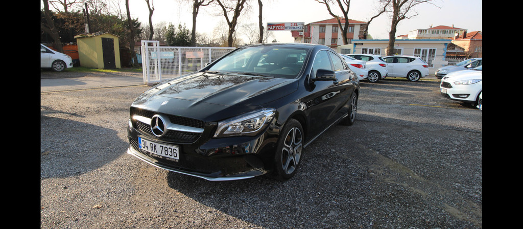 ikinci el araba 2016 Mercedes - Benz CLA 180 D Comfort Dizel Otomatik 24000 KM