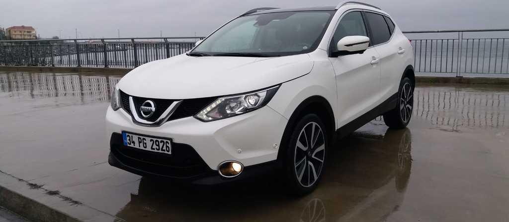 ikinci el araba 2015 Nissan Qashqai 1.6 dCi Platinum Premium Pack Dizel Otomatik 29900 KM