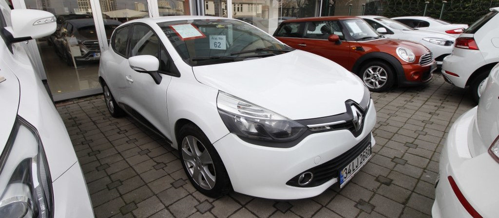 ikinci el araba 2014 Renault Clio 1.5 dCi Touch Dizel Otomatik 119400 KM 0
