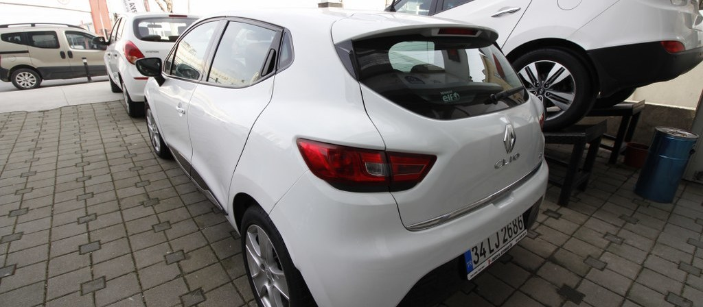 ikinci el araba 2014 Renault Clio 1.5 dCi Touch Dizel Otomatik 119400 KM 3