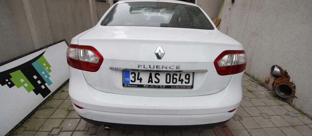 ikinci el araba 2014 Renault Fluence 1.5 dCi Touch Plus Dizel Otomatik 147000 KM 7