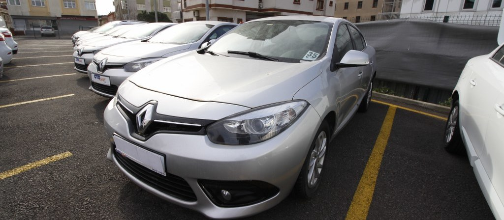 ikinci el araba 2014 Renault Fluence 1.5 dCi Touch Plus Dizel Otomatik 123000 KM