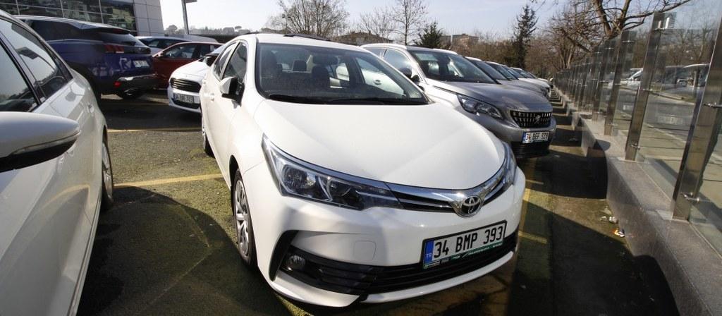 ikinci el araba 2018 Toyota Corolla 1.4 D-4D Touch Dizel Otomatik 21000 KM