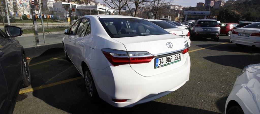 ikinci el araba 2018 Toyota Corolla 1.4 D-4D Touch Dizel Otomatik 21000 KM 4