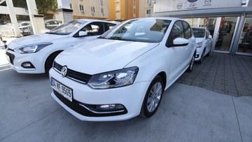 sahibinden satılık araba 2015 Volkswagen Polo 1.4 TDi Comfortline Dizel Otomatik 128400 KM