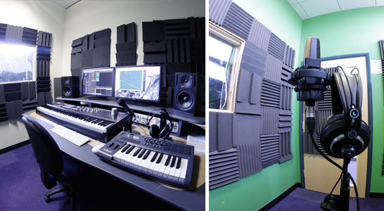 Big Creative Education Recording Booth and Mix Master Studio