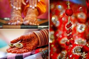 Indian Mehendi Wedding Ceremony