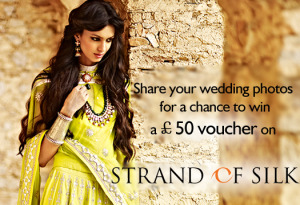 Share Wedding Photos Strand of Silk Voucher
