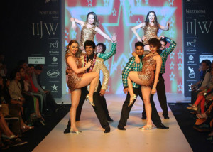 Indian Jewellery by Gitanjali on the ramp at the IIJW 2014