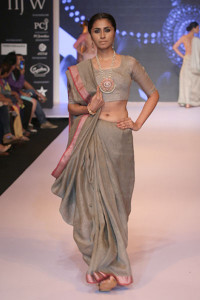 Beautiful Indian Jewellery on the ramp by Ganjam at IIJW 2014