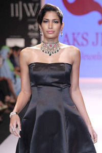 Aks Jewels at the IIJW on Day 2 | Indian bridal jewellery