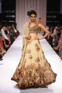 Pakistani Designer Zara Shahajan at the Lakme Fashion Week Winter Festive 2014