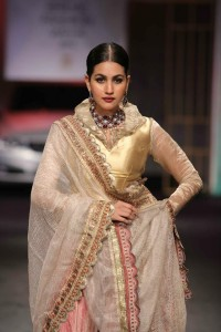 Meera Muzzafar Ali at India Bridal Fashion Week