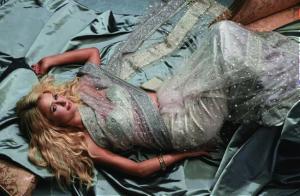 Paris Hilton in a Swarovski Saree