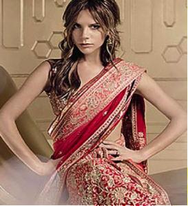 Victoria Beckham for Vogue India Bridal Issue