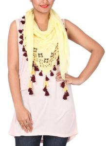 Khyati Sahani - Stylish Hand Embroidered Scarf