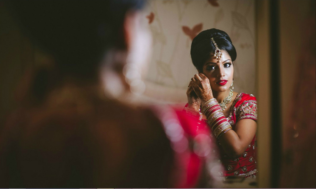 Stunning bride - Indian Wedding