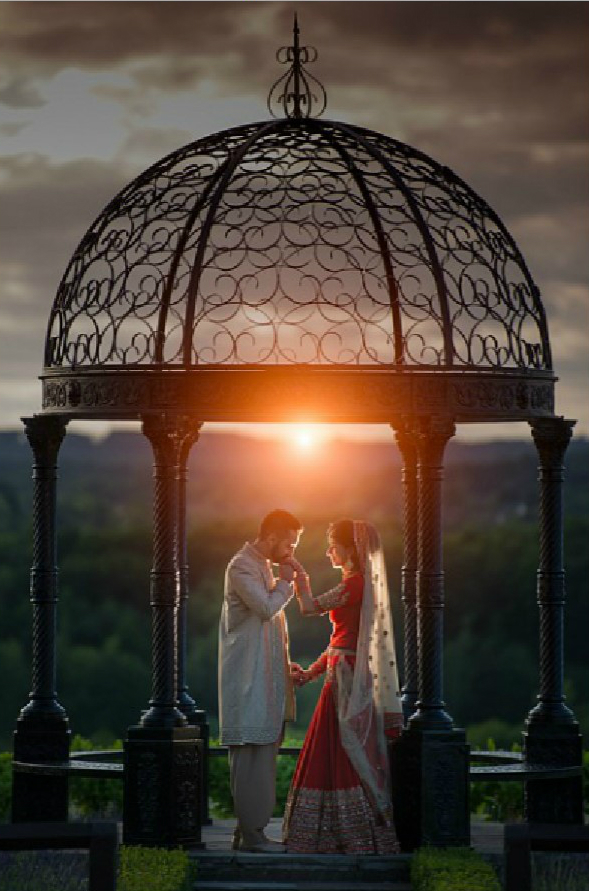 Romantic couples shot - Indian Wedding