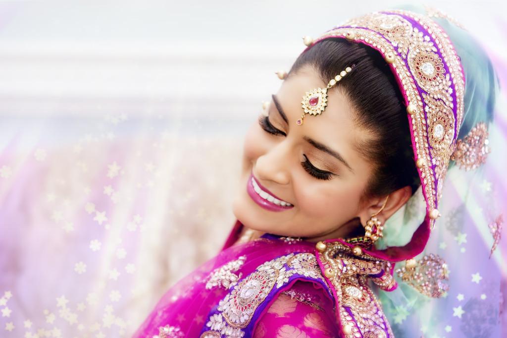 Pretty in pink bride - Bridal lehenga