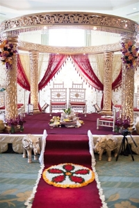 wedding sarees - wedding venue