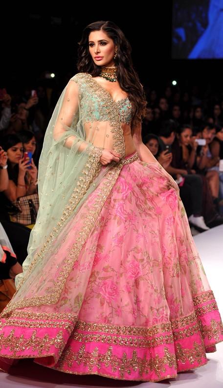 Printed lehenga   Indian Fashion