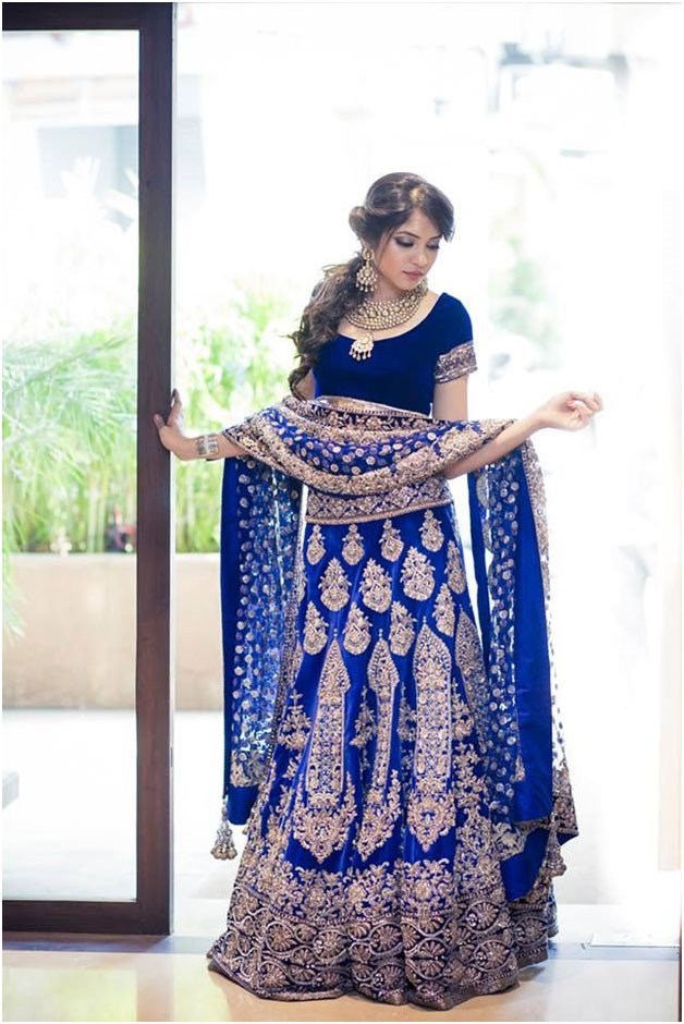 Blue Lehenga | Fashion in India