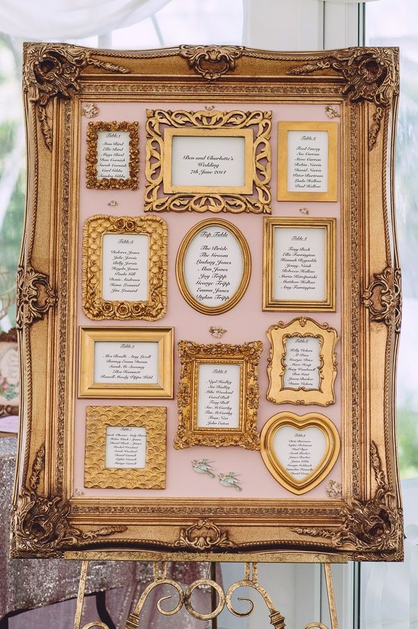 Framed Seating Plan