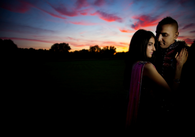 Wedding Sunset Photography by Monir Ali