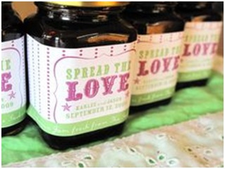 Wedding Favours - Jam in a Jar