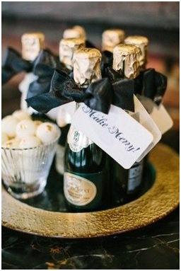 Wedding Favours - Small Champagne Bottle