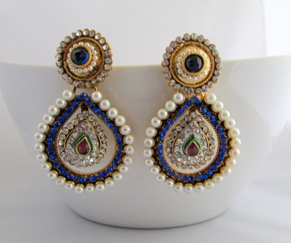 Indian bridal earrings