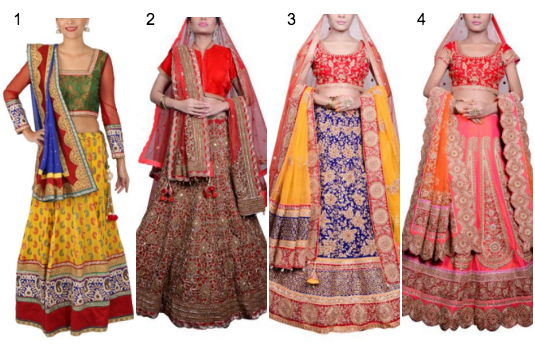 Traditional Lehenga Collection | Contemporary v/s Traditional Indian Wedding Attire