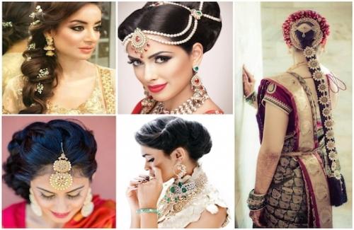 Mane Game - Beautiful Indian Wedding Hairstyles